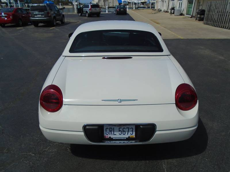 2002 Ford Thunderbird Deluxe 2dr Convertible - Warrensville Heights OH