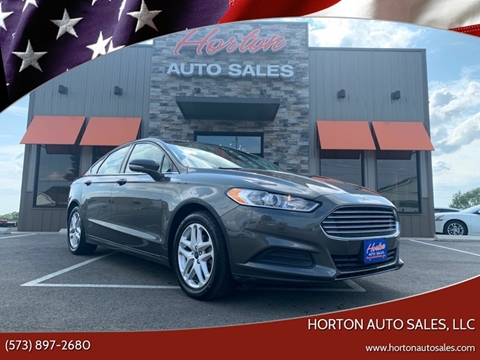 2016 Ford Fusion for sale in Linn, MO
