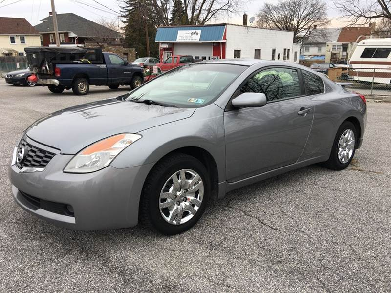 2009 Nissan Altima 25 S 2dr Coupe Cvt In York Pa On The Circuit