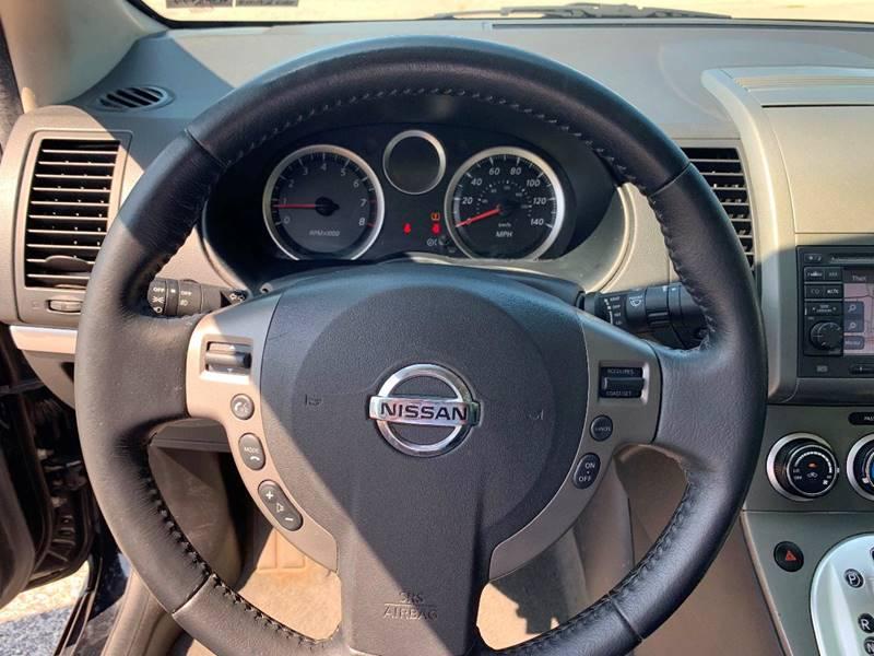 2012 Nissan Sentra 2 0 SR 4dr Sedan In York PA - On The Circuit Cars
