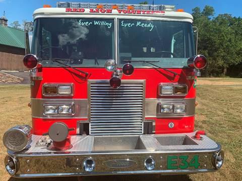 1990 Pierce Fire Truck for sale in York, PA