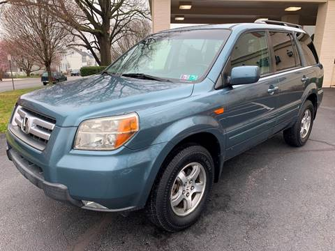 2008 Honda Pilot EX-L w/Navi for sale at On The Circuit Cars & Trucks in York PA