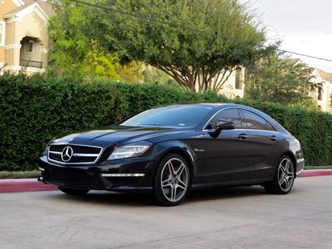 2012 Mercedes-Benz CLS for sale at RBP Automotive Inc. in Houston TX