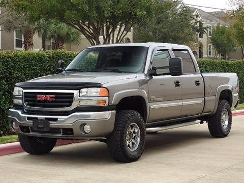 Gmc Sierra 2500hd For Sale In Houston Tx Rbp Automotive Inc