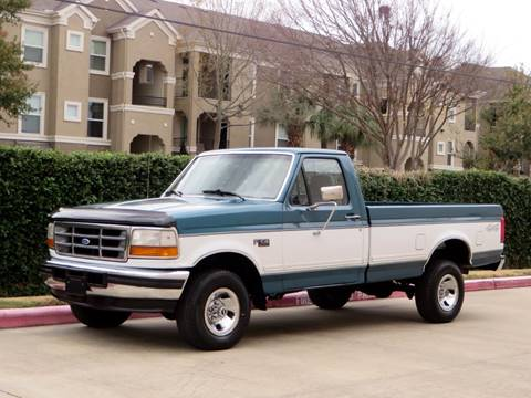 1996 Ford F-150 for sale at RBP Automotive Inc. in Houston TX