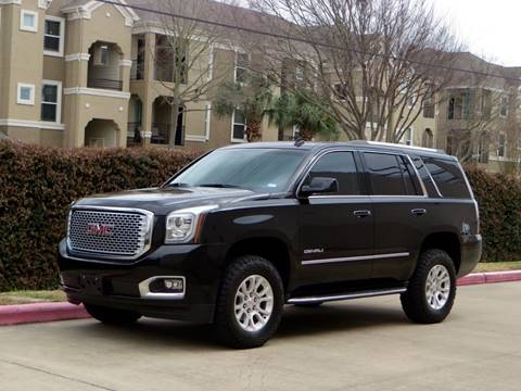 2015 GMC Yukon for sale at RBP Automotive Inc. in Houston TX