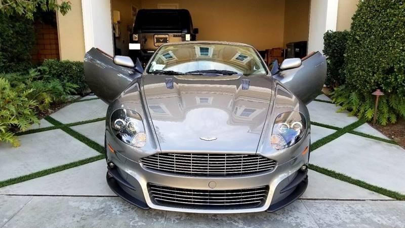 Aston Martin DB Volante In Houston TX RBP Automotive Inc - 2006 aston martin db9 for sale