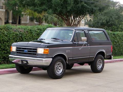 1992 Ford Bronco for sale at RBP Automotive Inc. in Houston TX