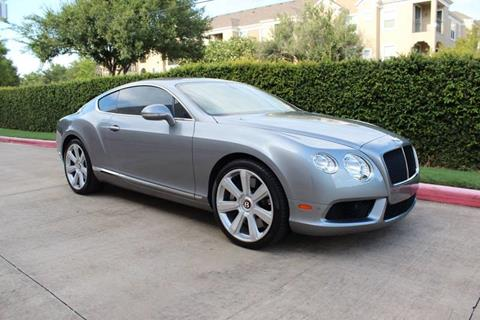 2013 Bentley Continental for sale at RBP Automotive Inc. in Houston TX