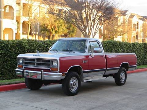 1990 Dodge RAM 250 for sale at RBP Automotive Inc. in Houston TX