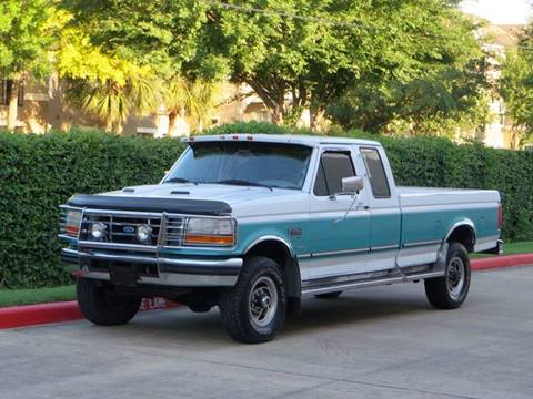 1996 Ford F-250 for sale at RBP Automotive Inc. in Houston TX