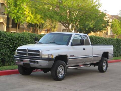 1997 Dodge Ram Pickup 2500 for sale at RBP Automotive Inc. in Houston TX