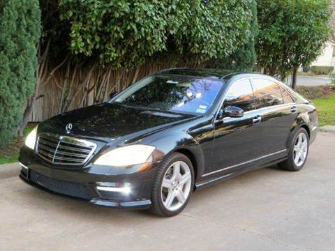 2007 Mercedes-Benz S-Class for sale at RBP Automotive Inc. in Houston TX