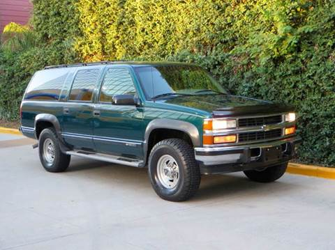 1996 Chevrolet Suburban for sale at RBP Automotive Inc. in Houston TX