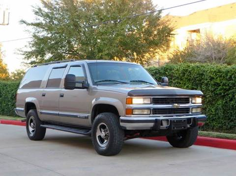 1999 Chevrolet Suburban for sale at RBP Automotive Inc. in Houston TX