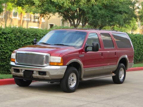 2001 Ford Excursion for sale at RBP Automotive Inc. in Houston TX
