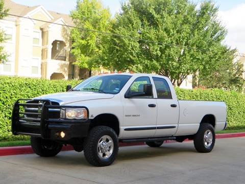 2005 Dodge Ram Pickup 3500 for sale at RBP Automotive Inc. in Houston TX