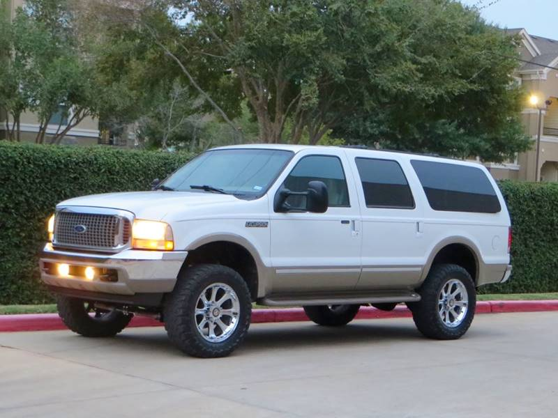 Ford Excursion Limited In Houston TX RBP Automotive Inc - 2002 excursion