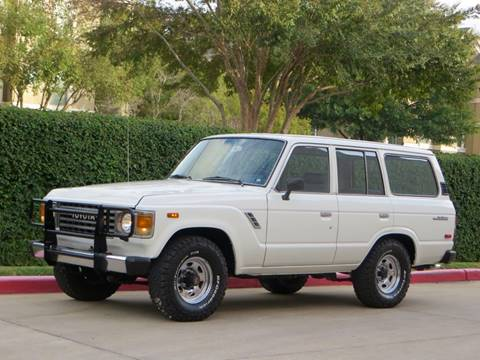 1987 Toyota Land Cruiser for sale at RBP Automotive Inc. in Houston TX