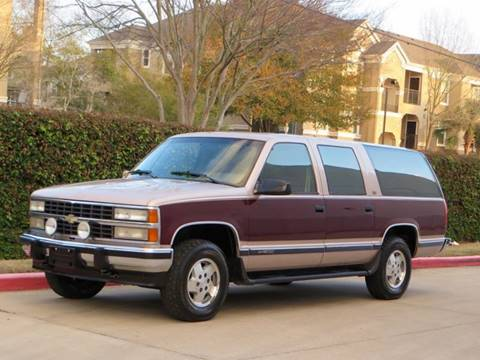 1993 Chevrolet Suburban for sale at RBP Automotive Inc. in Houston TX