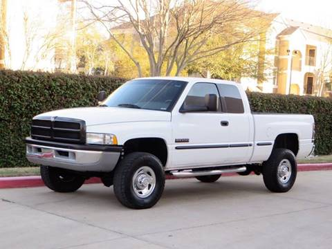 1999 Dodge Ram Pickup 2500 for sale at RBP Automotive Inc. in Houston TX