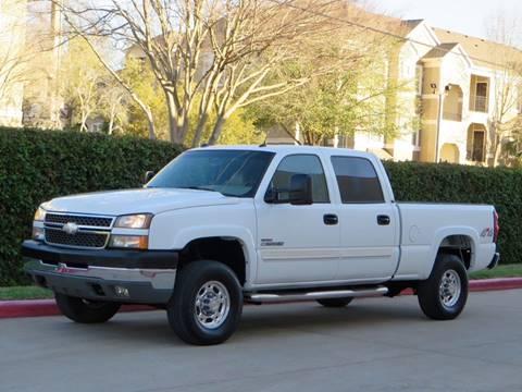 2005 Chevrolet Silverado 2500HD for sale at RBP Automotive Inc. in Houston TX
