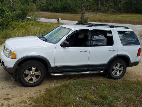 2003 Ford Explorer XLT & Used Cars Livermore Auto Financing For Bad Credit Augusta ME ... markmcfarlin.com