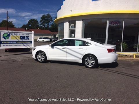 2016 Chevrolet Impala for sale in Batesburg, SC