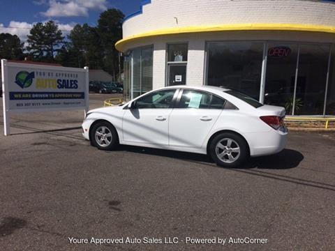 2015 Chevrolet Cruze for sale in Batesburg, SC