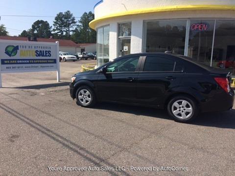 2016 Chevrolet Sonic for sale in Batesburg, SC