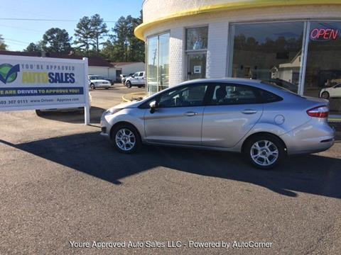 2016 Ford Fiesta & Ford Used Cars Pickup Trucks For Sale Batesburg Youu0027re Approved ... markmcfarlin.com