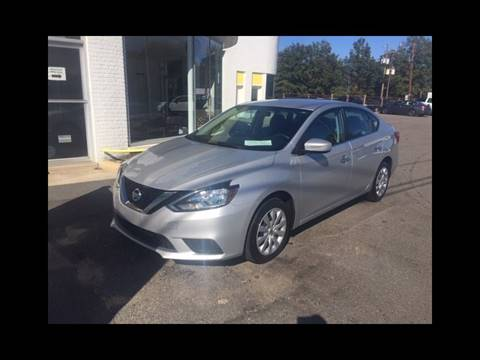 2017 Nissan Sentra SV for sale at You're Approved Auto Sales in Batesburg SC