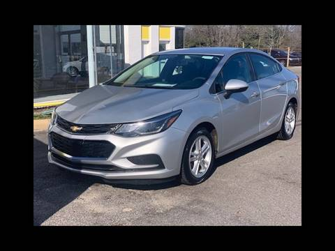 2018 Chevrolet Cruze LT Auto for sale at You're Approved Auto Sales in Batesburg SC