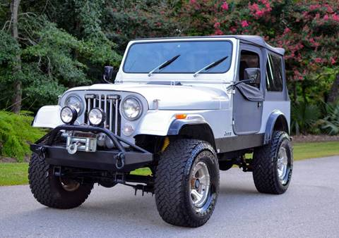 1984 Jeep CJ-7 for sale in Wilmington, NC
