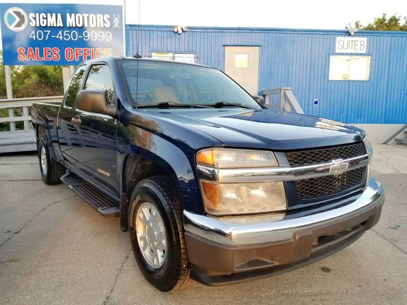 2004 Chevrolet Colorado 4dr Extended Cab Zq8 Rwd Sb In