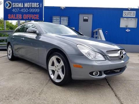 Mercedes Benz Orlando >> 2006 Mercedes Benz Cls For Sale In Orlando Fl
