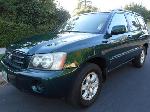 2001 Toyota Highlander for sale in Valley Village, CA