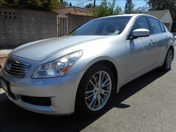 2008 Infiniti G35 for sale in Valley Village, CA