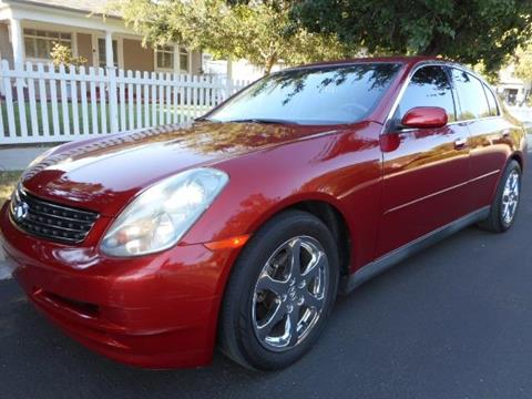 2003 Infiniti G35 for sale in Valley Village, CA