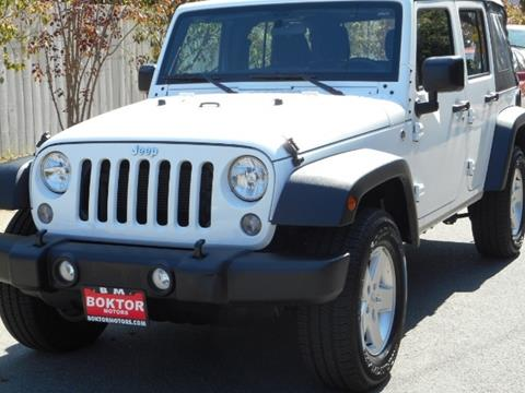 2015 Jeep Wrangler Unlimited for sale in Valley Village, CA