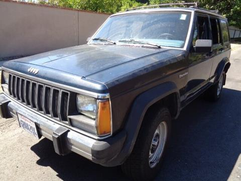 1987 Jeep Cherokee for sale in Valley Village, CA