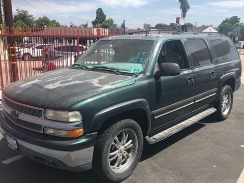 2002 Chevrolet Suburban for sale in Valley Village, CA