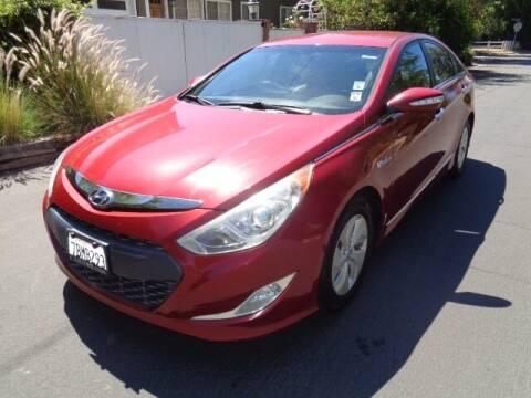 2013 Hyundai Sonata Hybrid for sale at Boktor Motors in North Hollywood CA