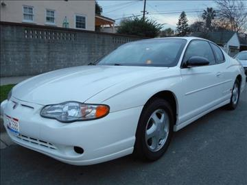 2001 Chevrolet Monte Carlo for sale in Valley Village, CA