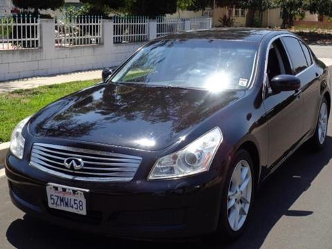 2007 Infiniti G35 for sale in Valley Village, CA