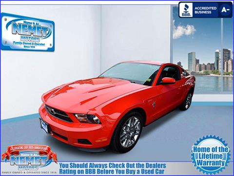 2012 Ford Mustang for sale in Jamaica, NY