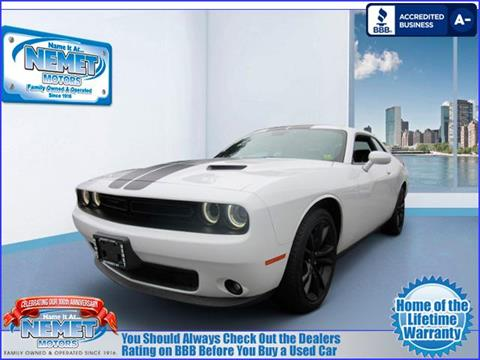 2016 Dodge Challenger for sale in Jamaica, NY