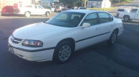 2001 Chevrolet Impala for sale at Driven Motors in Staunton VA