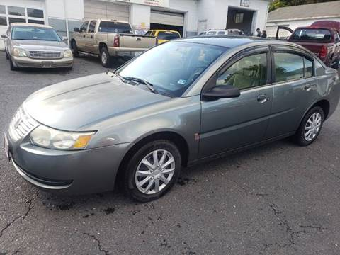 Used Cheap Cars >> 2007 Saturn Ion For Sale In Staunton Va