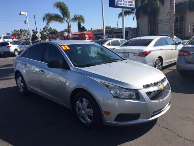 2011 Chevrolet Cruze for sale at South Bay Motors in Chula Vista CA